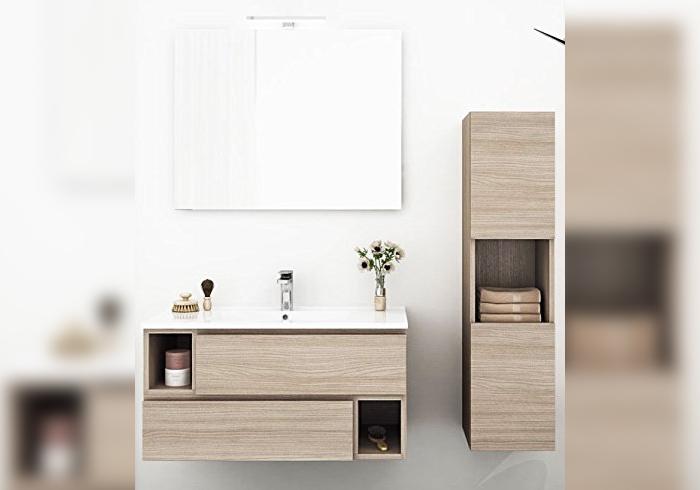 Bathroom furniture, mirror, BASIS 2 LOADS 2 OPEN SUBJECT ROOMS BASIS