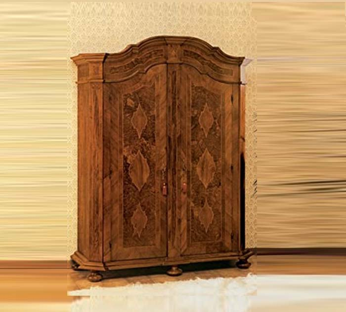 Removable inlaid wardrobe