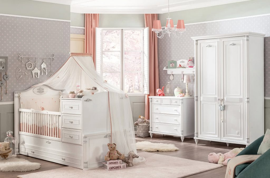 The bedroom that grows with your little girl