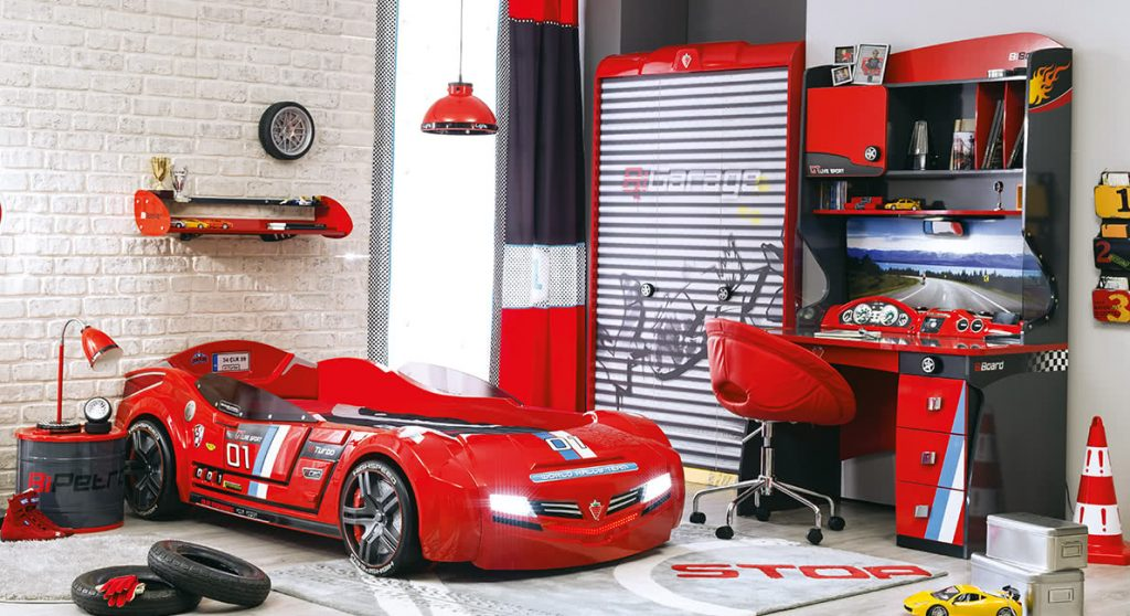 Bed in the shape of a car, ship or princess? useful ideas for your children's bedroom …