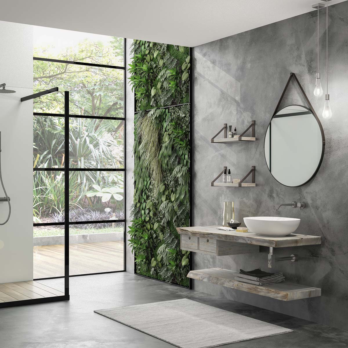 Rediscover Nature in your bathroom