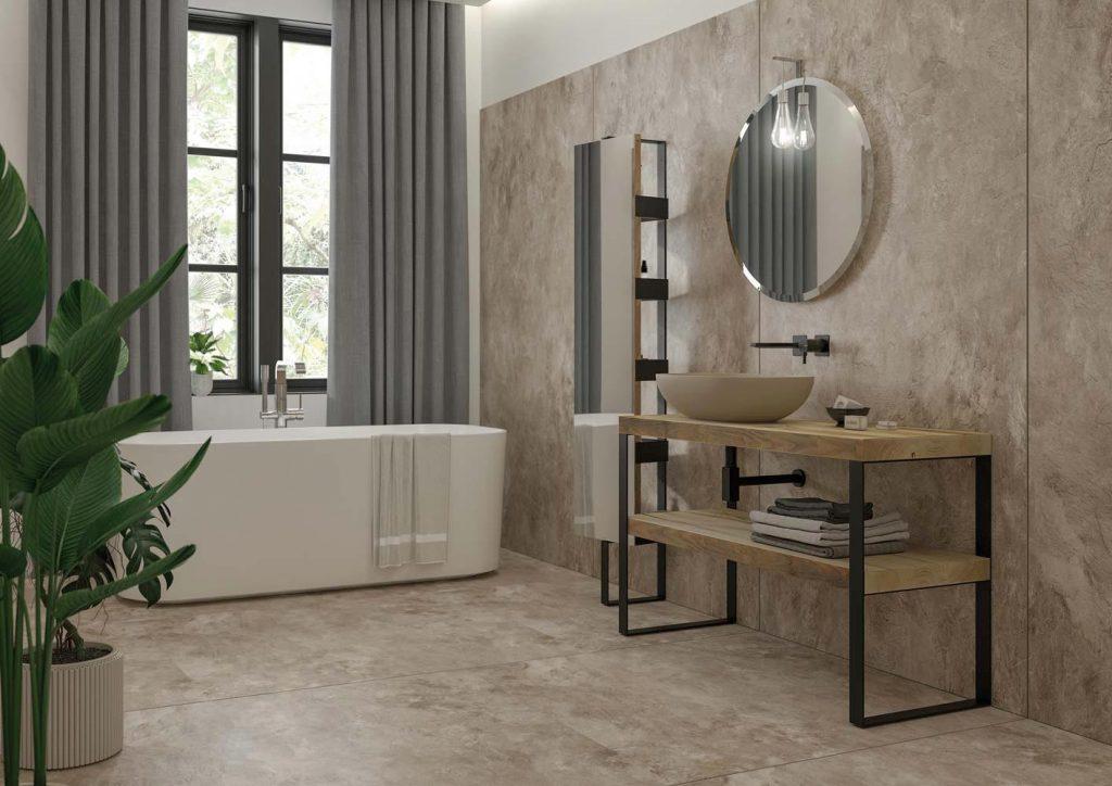 mobile bagno moderno legno massello