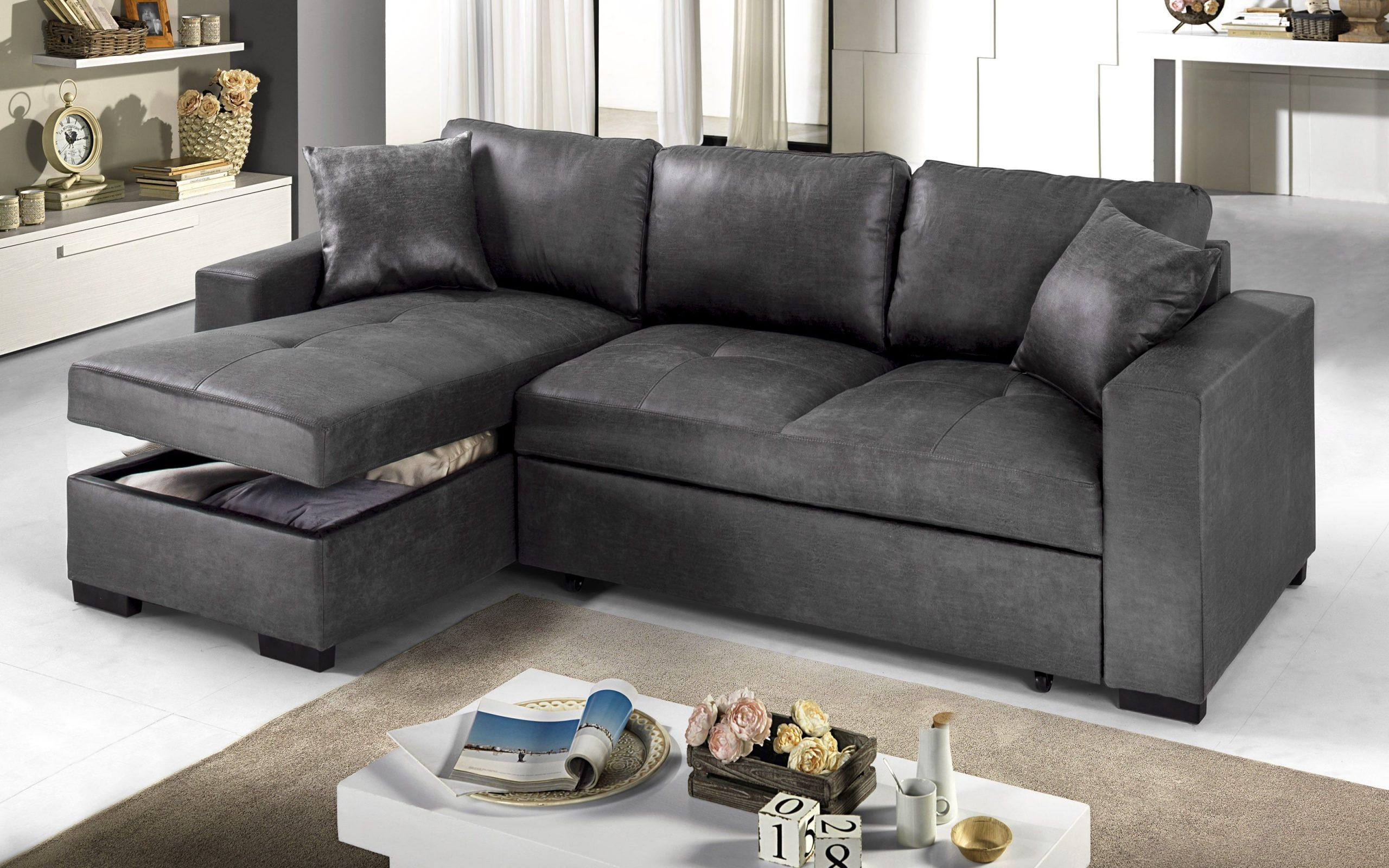 leatherette akụkụ sofa