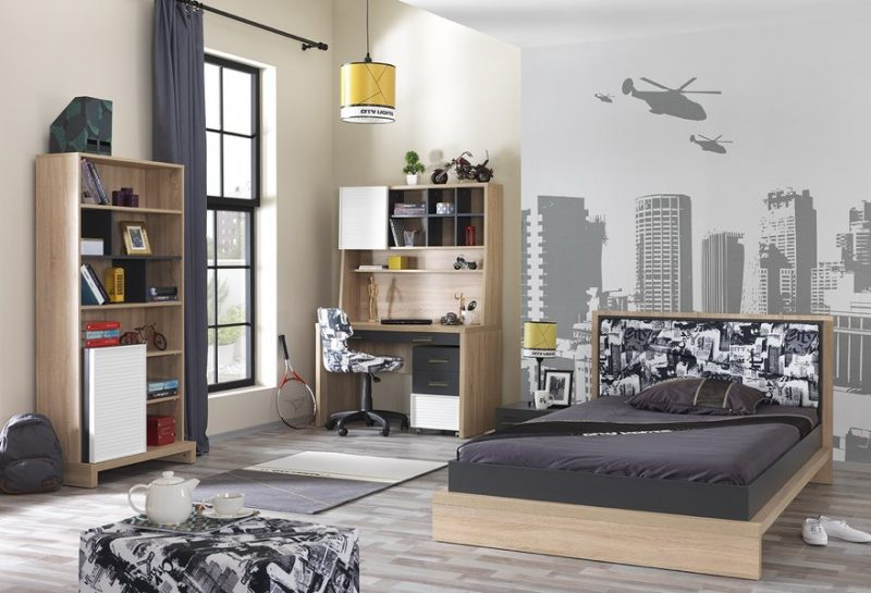 complete modern boy bedroom
