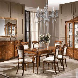 Dafnedesigncom-Set-sala-da-pranzo-e-soggiorno-composto-da-1-Tavolo-rettangolare-colore-legno-scuro-4-Sedie-c-B07FCLKC8D-2