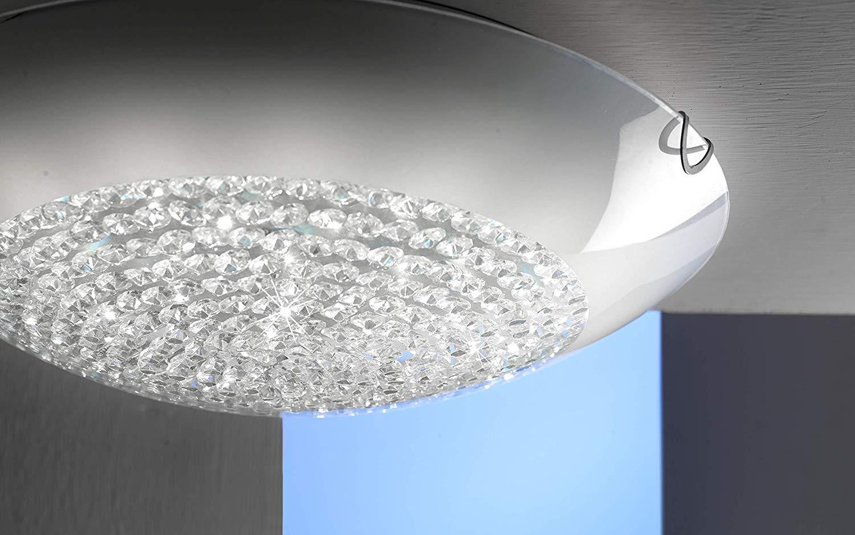 Plafoniere Industriali Diametro 30 : Dafnedesign.com plafoniera con cristalli diametro 30 cm. stile
