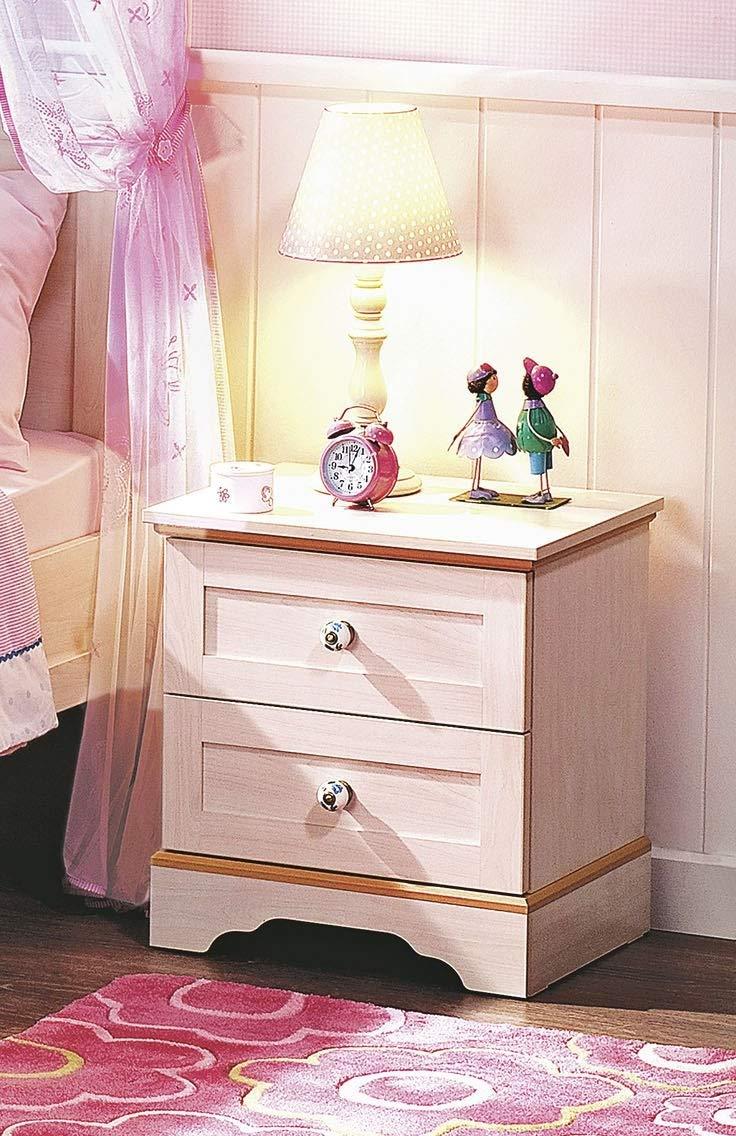 dafnedesigncom uit de slaapkamer naast het bed meisje of een jongen een nachtkastje met twee laden geschikt voor een kamer aan meisje of meisje