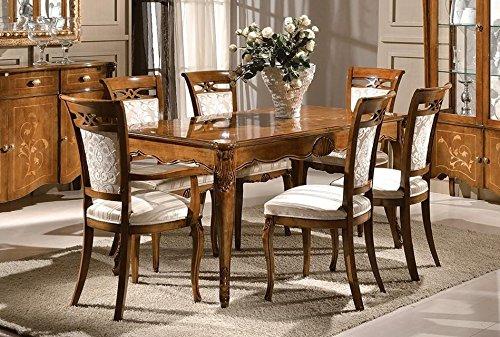 tavolo di legno e sedie